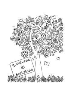 Realizzato con l'app Rhonna DESIGNS - copertina quaderno di religione