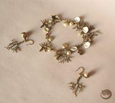 Sea Jewelry set Ocean Jewelry set Mermaid by BinturongJewelry