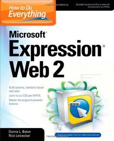How to Do Everything Microsoft Expression Web 2