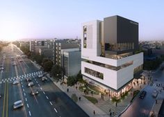 dmp WORKS - 신당동 공공복합청사 Mass Building, Arch Building, Office Building Architecture, Facade Architecture, Amazing Architecture, Building A House, Facade Design, Exterior Design, Mall Facade