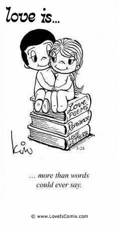 Liefde is... meer dan woorden kunnen zeggen