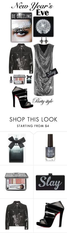 """""""NYE Dance Party"""" by shortyluv718 ❤ liked on Polyvore featuring Torrid, Christian Dior, Miu Miu and nyestyle"""