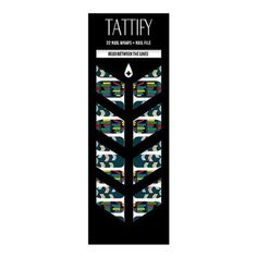 Tattify Book Nail Wraps - Read Between the Lines (Set of 22)