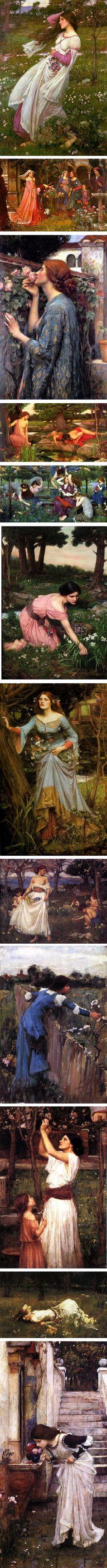 Welcoming Spring with John William Waterhouse