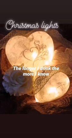 Long Drink, Christmas Lights, Celestial, Christmas Fairy Lights