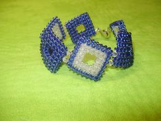 Браслет в технике квадратный жгут ( Очень подробный мк!!!!) / Bracelet t...