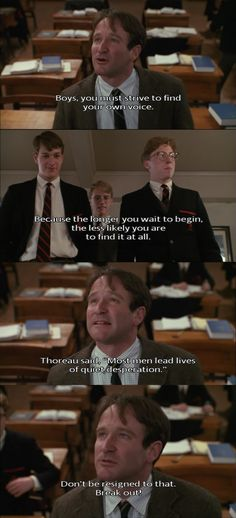 dead poets society four pillars