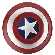 Captain America can't become the true hero that he is unless he has his shield! This Captain America shield is perfect for our kids Avengers costumes this Halloween.