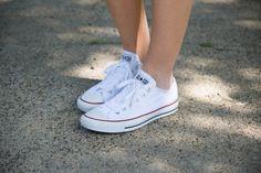 White Converse | Amber Venz