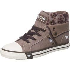 #MUSTANG #Damen #Sneakers #braun Die MUSTANG Sneakers sind mit ihrem doppelten…