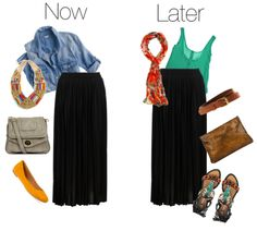 Getting Warmer: 5 Fashion Staples to Wear Now and Later - The Maxi Skirt