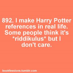 Harry Potter: Riddikulus!