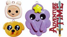 DIY Adventure Time | Finn Jake & Lumpy Space Princess | Kawaii Polymer C...