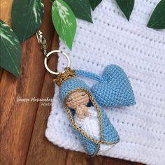 Crochet Earrings, Instagram, Jewelry, Eucharist, Key Chains, Cute, Key Fobs, Ideas, Amigurumi