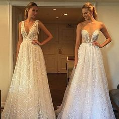 Oh so regal are the new designs of @berta! We are smitten with their sparkle and glow. #Berta #bertabridal #WeddingWednesday #love #sparkle #bridaldesigner #shineon #glowing #engaged #gettingmarried #ido #isaidyes #futuremrs #weddingdress #dreamdress #dre