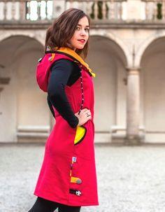 Šaty / tunika - 100% bavlna / Zboží prodejce Jane Art | Fler.cz High Neck Dress, Couture, Dresses, Fashion, Vestidos, Fabric, Projects, Tunic, Turtleneck Dress