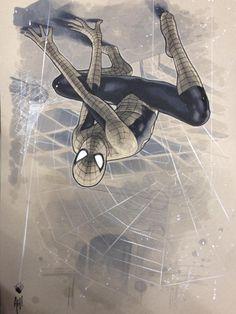 Spider-Man by Adam Hughes *