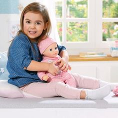 Superb My First Baby Annabell Baby Fun Doll Now at Smyths Toys UK. Shop for Baby Annabell At Great Prices. Little Babies, Little Girls, Toys Uk, First Baby, Cool Baby Stuff, Snuggles, How To Fall Asleep, Dolls, Fun