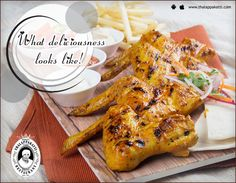 Experience the real deliciousness with this Cajun Spicy BBQ Wings at THALAPPAKATTI RESTAURANT   Order Online: http://bit.ly/ThalappakattiWeb  #DindigulThalappakatti #Thalappkatti #ThalappakattiRestaurant #Food  #Chicken #BBQChicken #CajunSpicyBBQWings