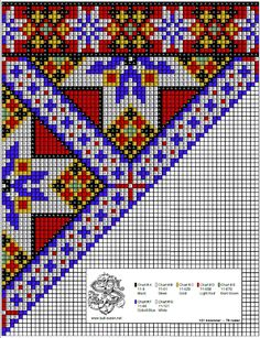 Perlesøm på stramei, bunad. – Vevstua Bull-Sveen Cross Stitching, Cross Stitch Embroidery, Cross Stitch Patterns, Bead Crochet Rope, Native Art, Hand Sewing, Needlework, Diy And Crafts, Weaving
