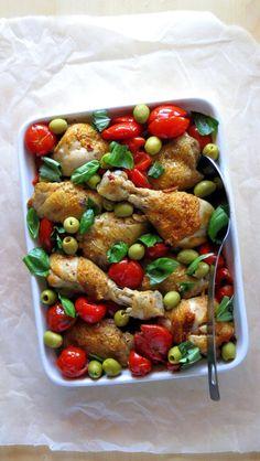 EASY & Quick Pressure Cooker Chicken Cacciatore