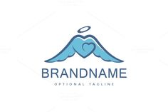 For sale. Only $29  #wedding #safe #charity #health care #care #love #healthy #fly #heart #soft #safety #service #abstract #bird #help #feather #angel #halo #subtle #free #wings #freedom #aid #soul #guardian #mutual #winged #understanding #logo #design #template