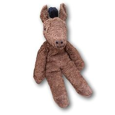 Senger Stuffed Animals Organic Cotton Beige Horse 12