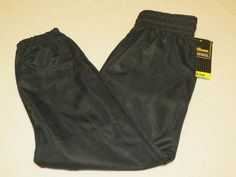 Wilson Athletic Youth M Baseball Pull up Pant 1 pair black sports WTA4204 NOS #Wilson
