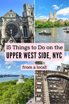 Want local tips for the best things to do on the Upper West Side NYC? Use this written-by-a-local guide to help you plan your New York trip! #newyorkcity #upperwestside #travel