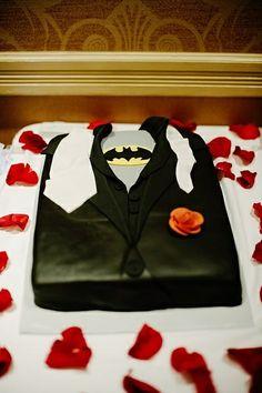 Batman Groomsmen Cake