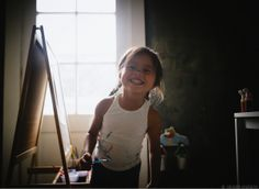 Photos: We can all learn a lot from this little girl.  Ginger Unzueta on Babycenter. Child photography | Lifestyle photography| kids art | create
