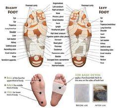 TCM Diagnosis - the feet