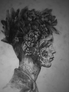 Juxtapoz Magazine - Drawings by Jessica Stewart James Thierrée, Jessica Stewart, Gcse Art Sketchbook, Sketchbooks, A Level Art, Green Man, Pictures To Paint, Art Pictures, Our Lady
