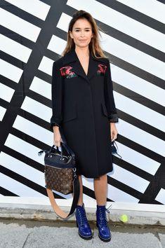 Miroslava Duma Photos Photos - Louis Vuitton : Front Row - Paris Fashion Week Womenswear Spring/Summer 2017 - Zimbio