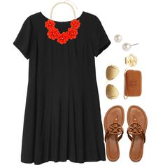 """Pop of Color"" by thevirginiaprep on Polyvore"