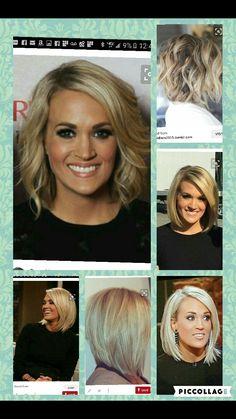 Carrie Underwood bob
