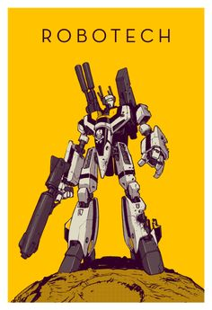 My favorite robots. Available as prints here. Skull Leader by D4N13L - Just ordered this from ShirtPunch. Couldn't resist a Robotech design
