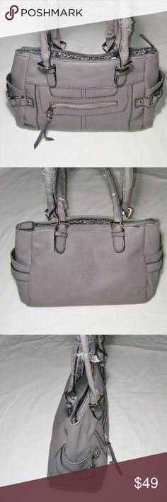 Cute Gray Satchel Bag Very cute gray satchel bag from Minicci with many compartments. Brand new never used. minicci Bags Satchels