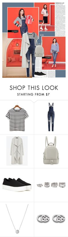 """""""Fate is jealous of us"""" by angiielf ❤ liked on Polyvore featuring Cheap Monday, Zara, MICHAEL Michael Kors, Opening Ceremony, Forever 21, Links of London, Gucci, kpop, Snsd and yoona"""