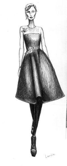 tela satinada fashion sketch - Google Search