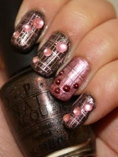 88 Best Line Nail Art Designs Images On Pinterest Pretty Nails