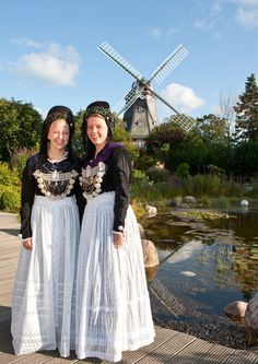 Frisian Tracht from the North Sea isle of Föhr