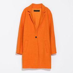 This Zara coat is pure sunshine!