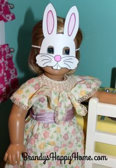 Doll Breakfast with the Easter Bunny