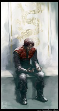The Dragon Reborn: Rand al'Thor from Robert Jordan's Wheel of Time (WoT) by Francesca Resta (niji707 on deviantart)