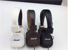 100-Original-Marshall-Major-Headphones-Noise-Cancelling-Deep-Bass-w-Remote-8007