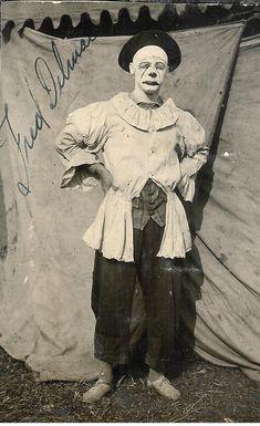 Fred Delmar circus clown