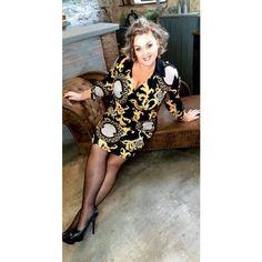 Fashion by Nono Versa átlapolt ruha - Lili Fashion Lily, Dresses With Sleeves, Plus Size, Long Sleeve, Fashion, Moda, Sleeve Dresses, Long Dress Patterns, Fashion Styles
