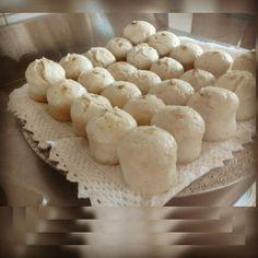 South African steamed breads. Dumplings / Muffin Dumplets)/ Amadombolo