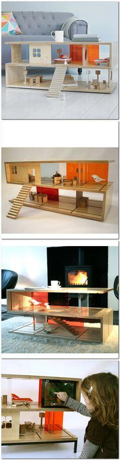 Doll's House-slash-coffee table!